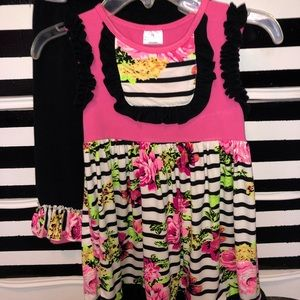 Other - Girls dress and leggings set